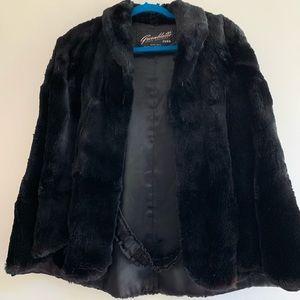 Jackets & Blazers - Genuine MINK cape!
